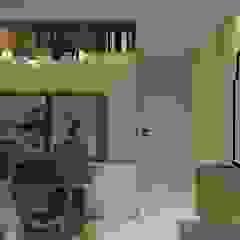 Apartamento JPA Salas de jantar escandinavas por Studio BRTA Escandinavo