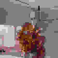 Projekt nowoczesnego wnętrza sklepu od Mono architektura wnętrz Katowice Minimalistyczny Płyta MDF