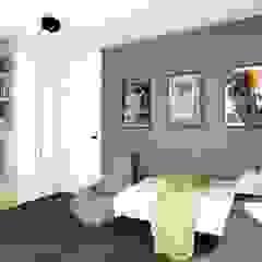 Projekt pokoju dla chłopca, Poznań Skandynawski pokój dziecięcy od Offa Studio Skandynawski