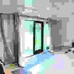 A music Studio in a garden by Nordic Wood Ltd Scandinavian Wood Wood effect