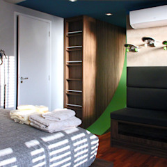 by INSIDE ARQUITETURA E DESIGN Country Engineered Wood Transparent
