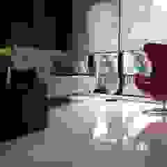Modern Masculine house Ruang Keluarga Modern Oleh Exxo interior Modern Kayu Wood effect