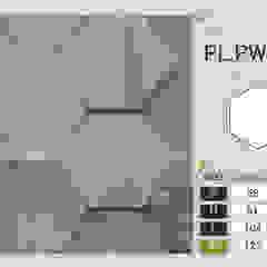 Pladec - Painéis de Madeira Origami Escolas modernas por CreativeArq Moderno Madeira Acabamento em madeira