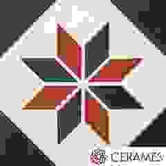 Gustowna podłoga z hiszpańskich płytek cementowych od Cerames Klasyczny