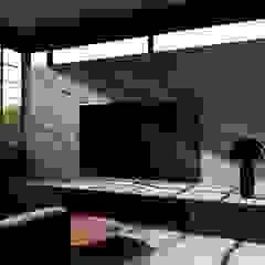 House Study 03 Ruang Keluarga Klasik Oleh alexander and philips Klasik Kayu Wood effect