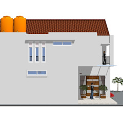 Private House Oleh MODE KARYA Skandinavia Batu Bata