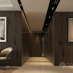 Residence 22, Mont Kiara Modern corridor, hallway & stairs by Norm designhaus Modern