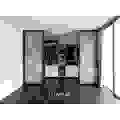 드레스룸 WALK IN CLOSET 모던스타일 드레싱 룸 by WITHJIS(위드지스) 모던 알루미늄 / 아연