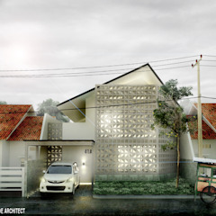 Rumah Roster Oleh Scande Architect Industrial