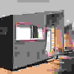 por m2 estudio arquitectos - Santiago Escandinavo Madeira Acabamento em madeira