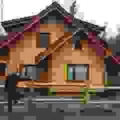 by Patagonia Log Homes - Arquitectos - Neuquén Scandinavian Wood Wood effect