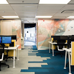 Shangri-La Customer Contact Centre by Space Simplified Sdn Bhd Modern