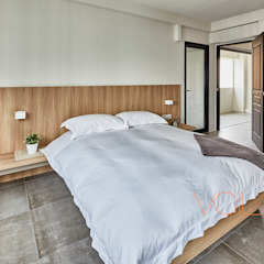 Industrial style bedroom by homify Industrial