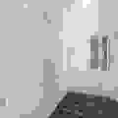 APARTMENT BSD Ruang Ganti Klasik Oleh IFAL arch Klasik Kayu Wood effect
