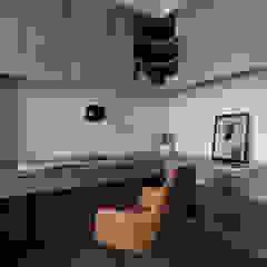 新北永和 敦南一品 Chen residence 双設計建築室內總研所 書房/辦公室