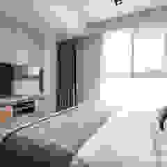 新北永和 敦南一品 Chen residence 双設計建築室內總研所 臥室