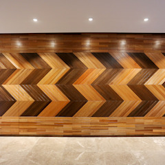 Kelab Golf Sultan Abdul Aziz Shah Bungalow Modern corridor, hallway & stairs by Studio BEVD Modern