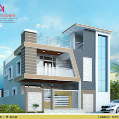 Asian style houses by M.A Constructions Asian
