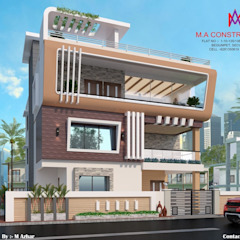 Colonial style houses by M.A Constructions Colonial