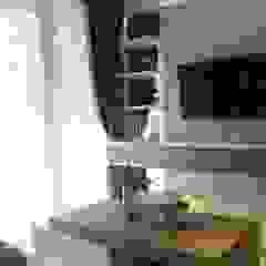 Apartemen Landmark II - Tipe 2 Bedroom (Design I) Ruang Keluarga Minimalis Oleh POWL Studio Minimalis