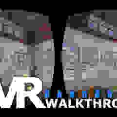 Virtual Reality Walkthrough By Yantram development- Atlanta, USA de Yantram Architectural Design Studio Clásico Ladrillos