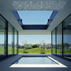 鳴門の家/House in Naruto モダンスタイルの プール の 藤原・室 建築設計事務所 モダン
