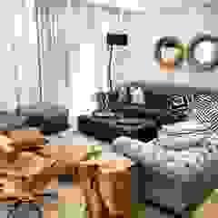 Lean van der Merwe Interiors ห้องนั่งเล่น