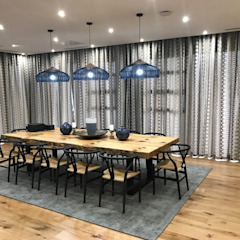 Residential Century City, Cape Town Eclectic style dining room by Lean van der Merwe Interiors Eclectic