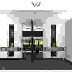OFFICE DESIGN Moderne kantoor- & winkelruimten van VAN VEEN INTERIOR DESIGN Modern Hout Hout