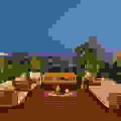 Hiên, sân thượng phong cách công nghiệp bởi Studio Nishita Kamdar Công nghiệp