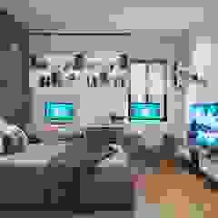 NỘI THẤT NHÀ PHỐ ĐẸP TẠI HẢI PHÒNG NHÀ ANH NGUYÊN Phòng ngủ phong cách hiện đại bởi Nội Thất An Lộc Hiện đại