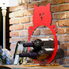 WITS Dining roomWine racks Red