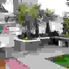 Roof Garden Oleh Alam Asri Landscape Modern Kayu Wood effect