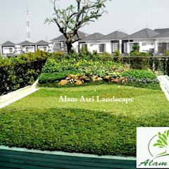 by Alam Asri Landscape Modern Wood Wood effect