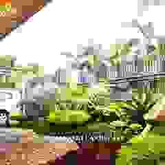 por Alam Asri Landscape Minimalista Madeira Efeito de madeira