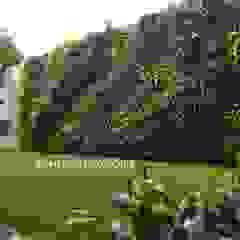 Vertical Garden Surabaya Oleh Alam Asri Landscape Tropis Besi/Baja