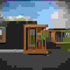 por Vicente Espinoza M. - Arquitecto Rústico Madeira Acabamento em madeira
