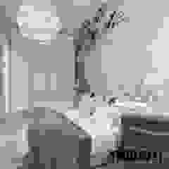 Scandinavian style bedroom by MIKOŁAJSKAstudio Scandinavian