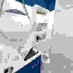 Apartamento Residencial - 24m² Banheiros rústicos por Fareed Arquitetos Associados Rústico