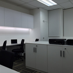 Office Space Planning and Design Minimalst style study/office by Atmosphere Axis Sdn Bhd Minimalist