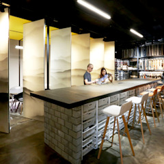 DESIGN & SUBMISSION SERVICES FOR FABRIC SHOWROOM & OFFICE by RSDS Architects Industrial