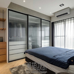 Industrial style bedroom by 湘頡設計 Industrial