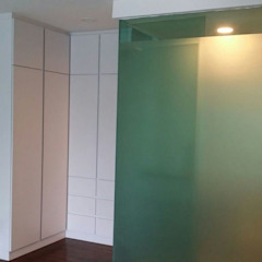 Interior Design and Renovation for Condominium Modern style dressing rooms by Atmosphere Axis Sdn Bhd Modern