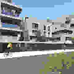 Complexo habitacional Kerautret-Du Camp por OGGOstudioarchitects, unipessoal lda Moderno