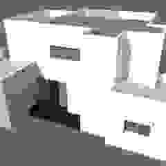 من Hector Arquitecto إنتقائي مزيج خشب وبلاستيك
