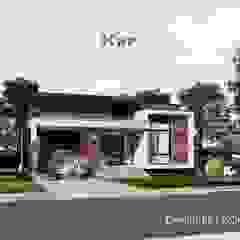งานออกแบบบ้านชั้นเดียว รหัส MD1-003 โดย Kor Design&Architecture โมเดิร์น คอนกรีต