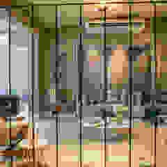 Lounge da Violinista por Sabackemunhoz Lojas e Espaços comerciais eclécticos por Geovanna Cristina Eclético
