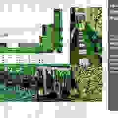 Taman Rumah Pribadi, Tanggerang Oleh Bengkel Tanaman Asia