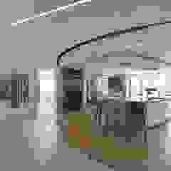 Mr & Mrs Unsworth Modern corridor, hallway & stairs by Diane Berry Kitchens Modern
