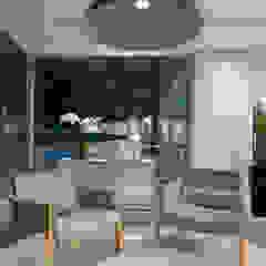 Spazhio Croce Interiores Ruang Komersial Modern
